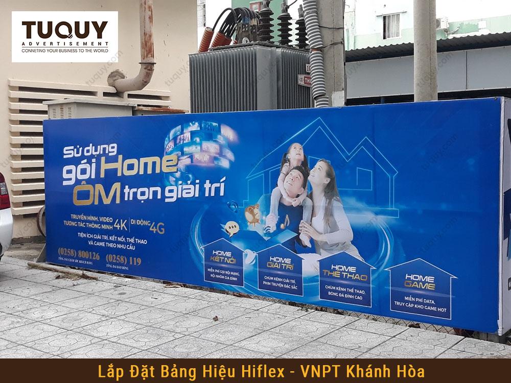 Bảng Hiệu Hiflex Tại Nha Trang - Quảng Cáo Tứ Quý