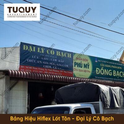 Bảng Hiệu Hiflex Lót Tôn - Quảng Cáo Tại Nha Trang