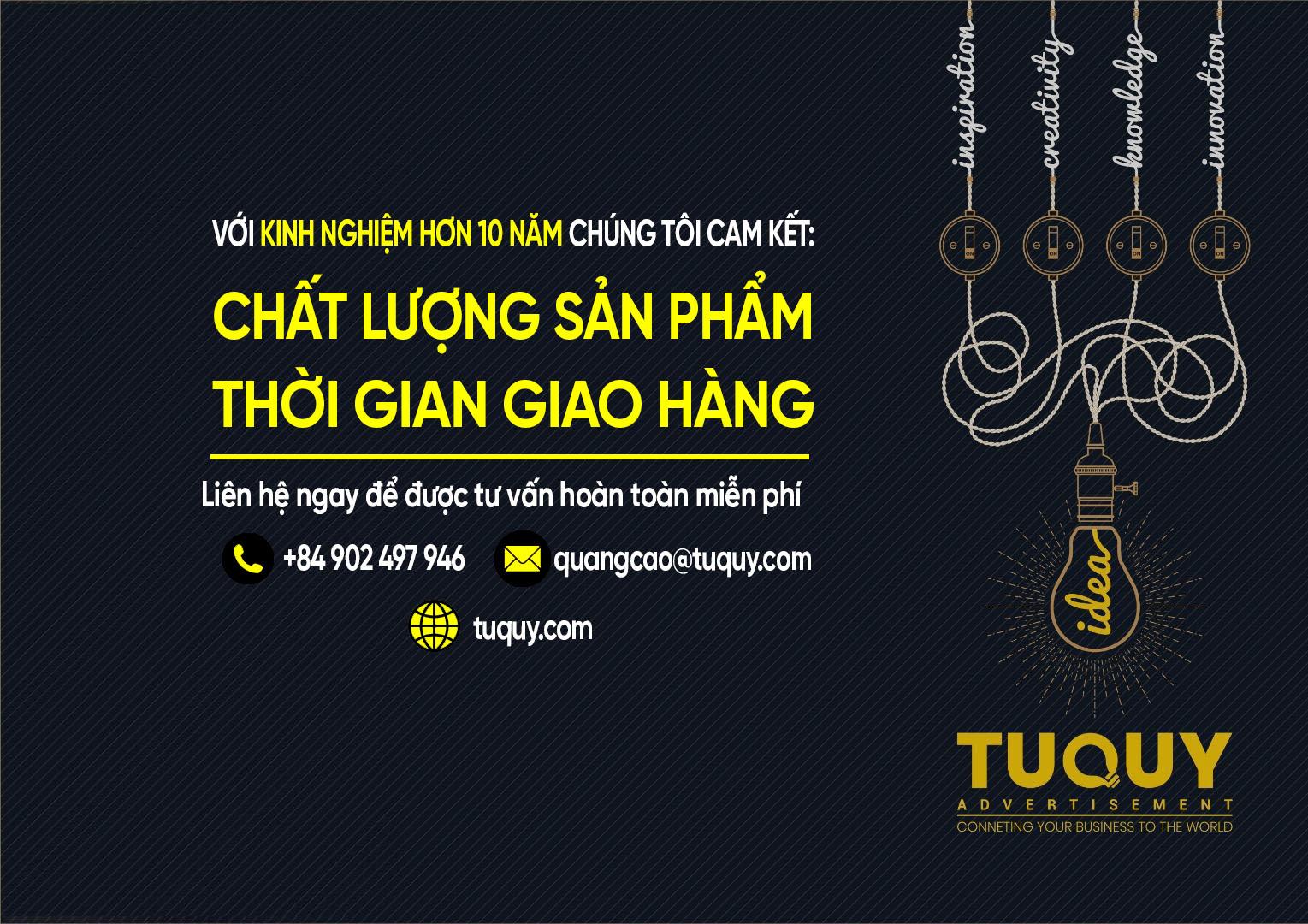 Quảng Cáo Tứ Quý Uy Tín Tại Nha Trang