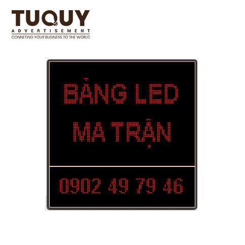Bảng quảng cáo điện tử - Bảng led ma trận p10 1 màu led đỏ