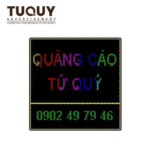 Bảng led ma trận P10 full color 960x960 mm