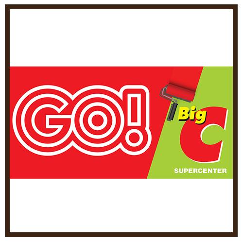 Thi công bảng hiệu quảng cáo Go - BigC Nha Trang