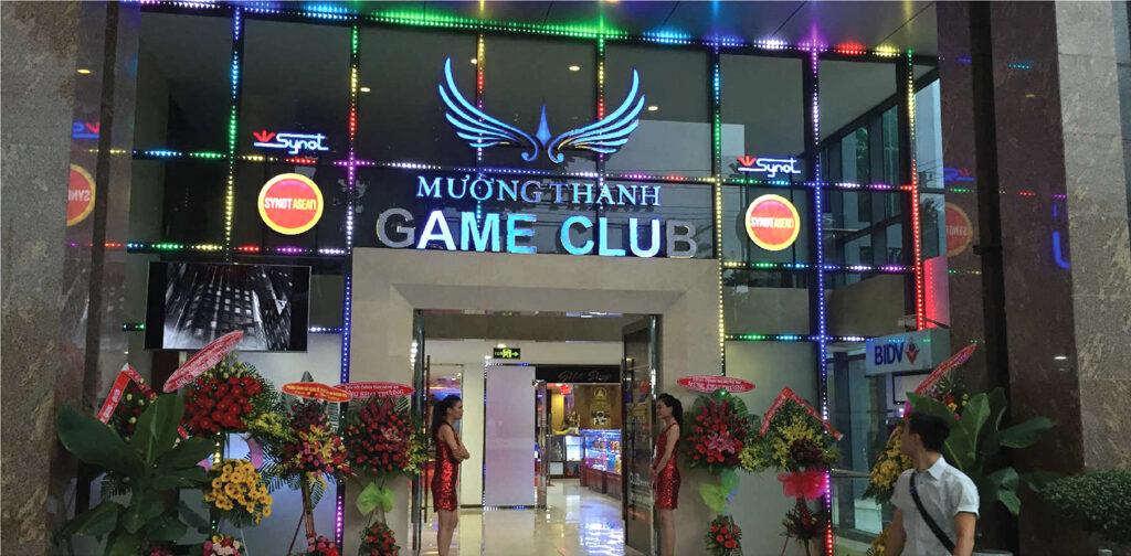 Thiết kế ánh sáng Mường Thanh game club - Quảng cáo Tứ Quý tại Nha Trang